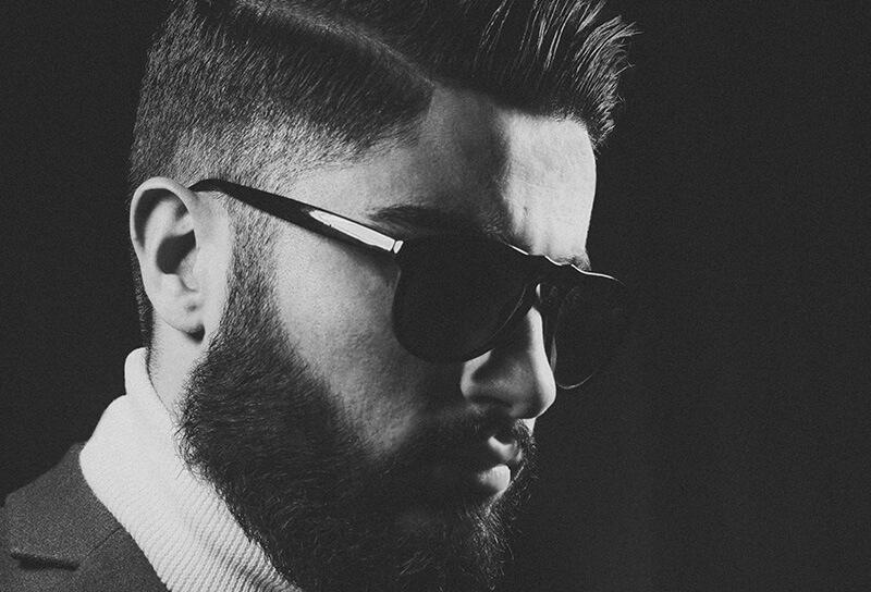 man wearing shades