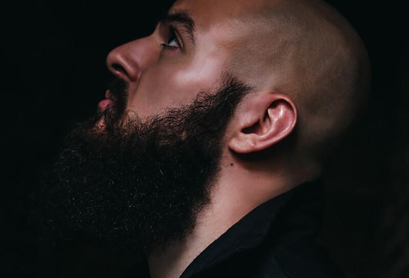 beard styles bald